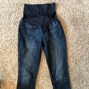 Gap Maternity Ankle Jeans